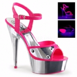 Scarpe Pleaser Delight-609NC/NHP/SCH